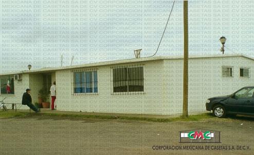 campamentos prefabricados comeca