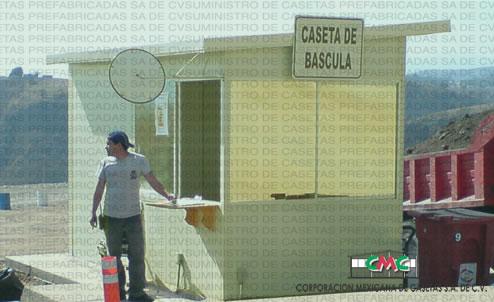 Casetas de Vigilancia Prefabricadas venta