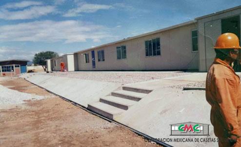 campamentos prefabricados precios