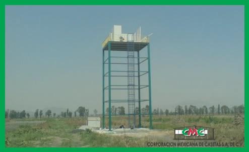 torres de vigilancia prefabricadas