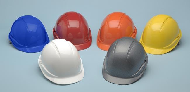 color de casco de seguridad
