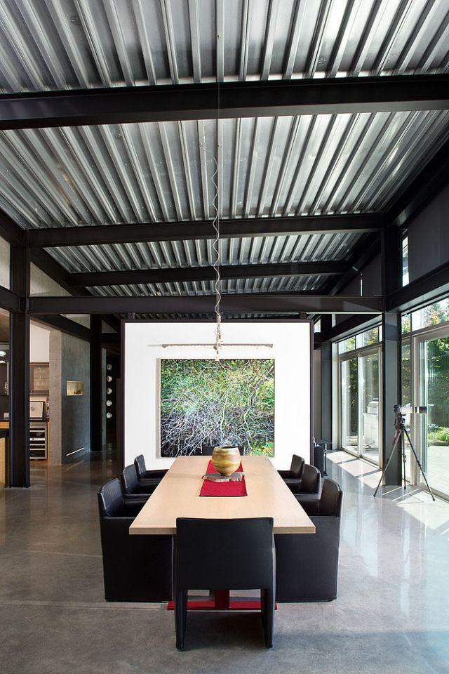 techos de lámina modernos