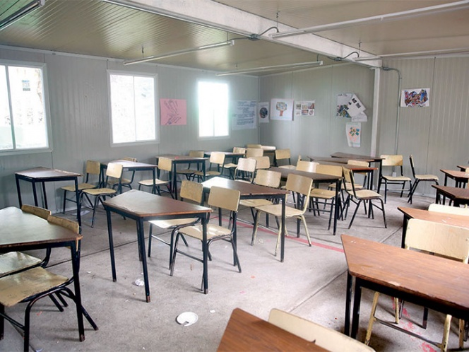 aulas prefabricadas en la CDMX
