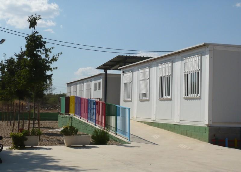 aulas prefabricadas en la cmx por sismo