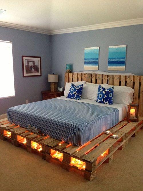 10 Ideas De Muebles Con Palets Reciclados - Reciclaje-de-palet