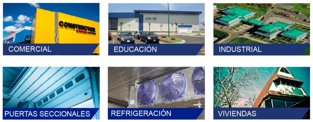 servicios de metecno en mexico paneles