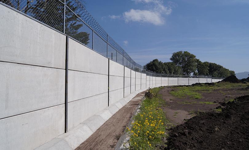muros tipos de bardas prefabricadas