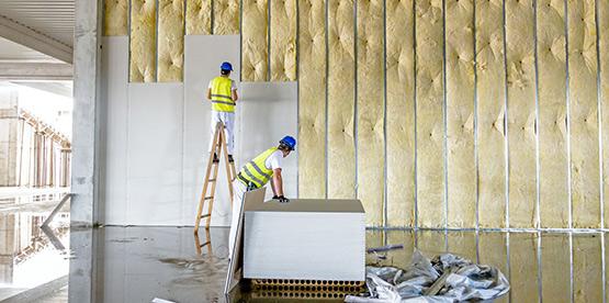 que es el aislamiento termico en edificios