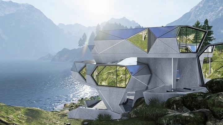 Modern House diseña CyberHouse, la casa a prueba de COVID-19. *Foto: Modern House